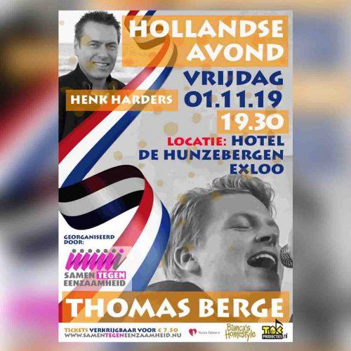 Hollandse Avond – Samen tegen eenzaamheid