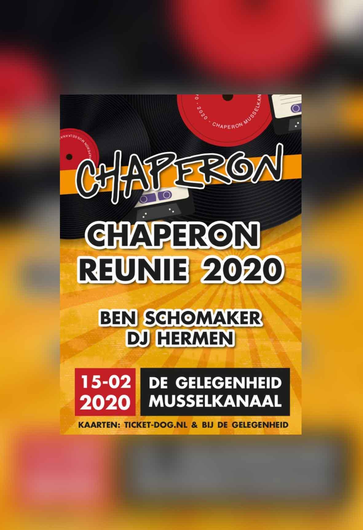 Chaperon Reünie 2020