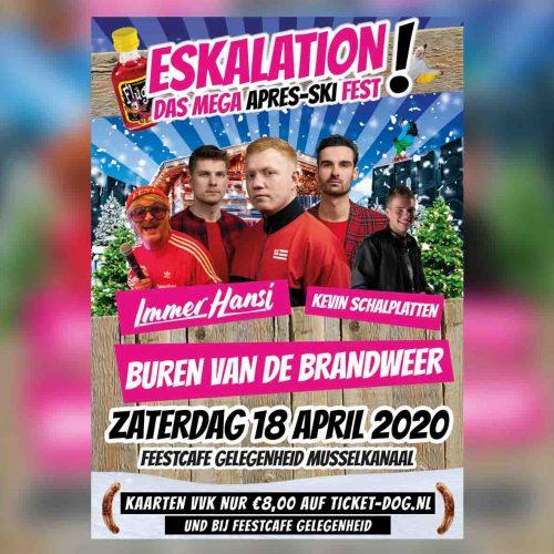 ESKALATION, Das Mega Après-Ski Fest!